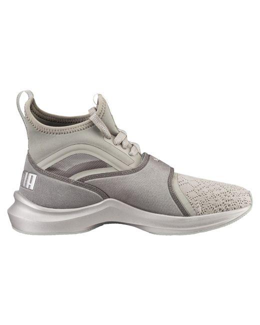 9f250e8d98e4 PumaPHENOM EN POINTE Sports shoes rock ridge metallic beige ...