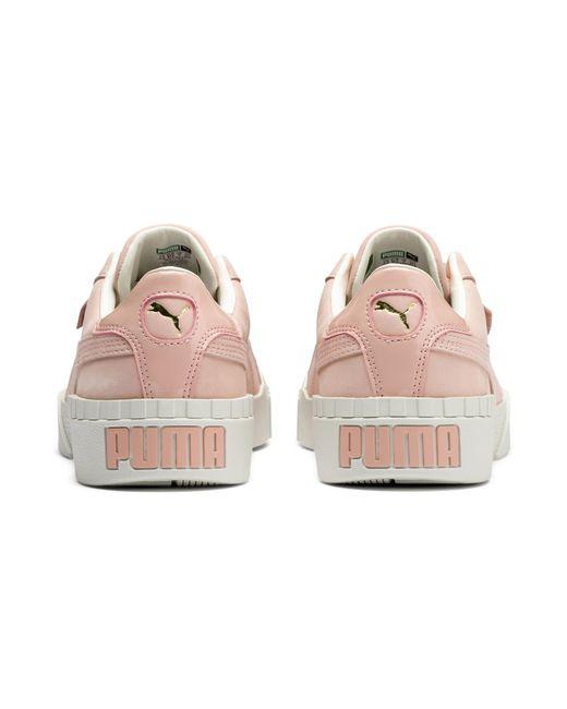 da9feb8d14 PUMA Pink Cali Nubuck Women's Sneakers