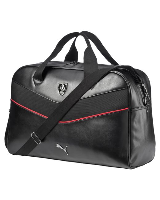 Awesome NEW PUMA FERRARI WOMENS PREMIUM F1 TEAM SHOPPING TOTE LARGE BAG RED
