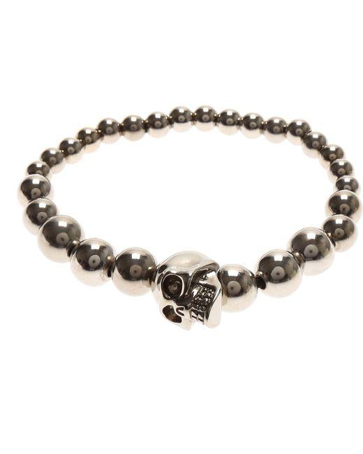Alexander McQueen - Metallic Mens Jewelry for Men - Lyst