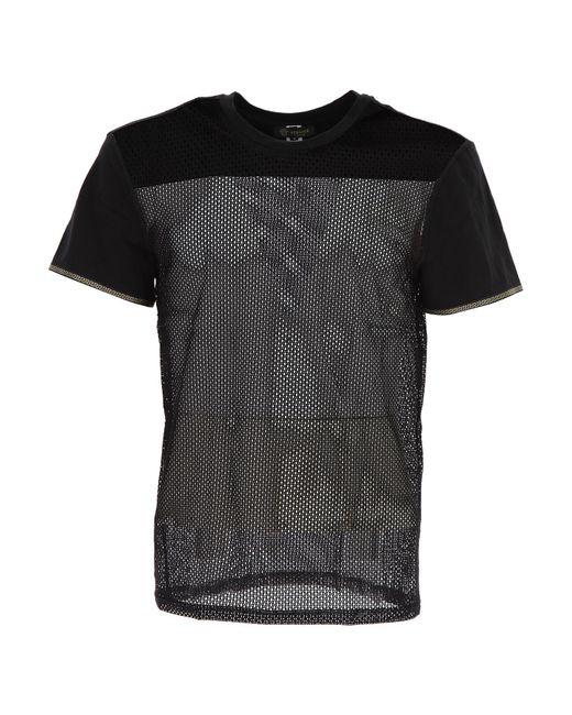 a6de0a85430b Versace - Black T-shirt Homme Pas cher en Soldes for Men - Lyst ...