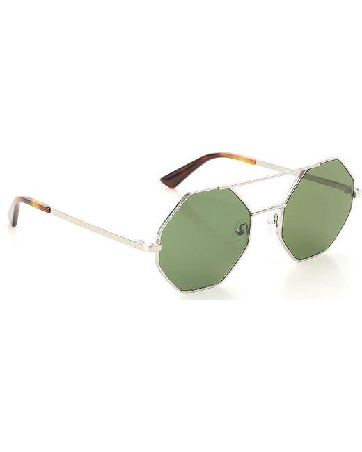 3fad401ad5 McQ Alexander McQueen - Metallic Gafas y Lentes de Sol Baratos en Rebajas -  Lyst ...