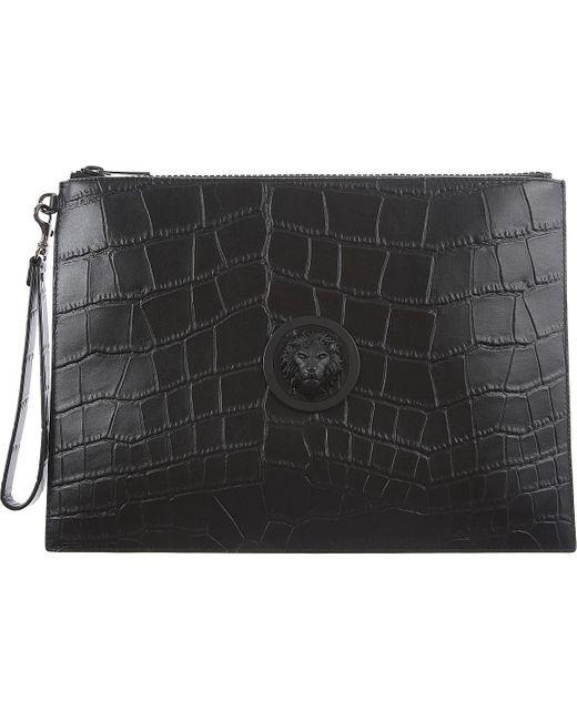 Pochettes Pas cher en Soldes Outlet Versace pour homme en coloris Black