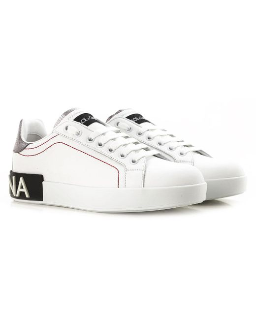 ac711d6cb8 Dolce & Gabbana Sneakers For Women On Sale in White - Save 26% - Lyst