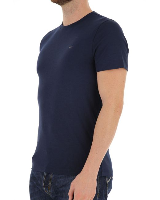 129610217190 Lyst - Michael Kors T-shirt For Men On Sale In Outlet in Blue for Men