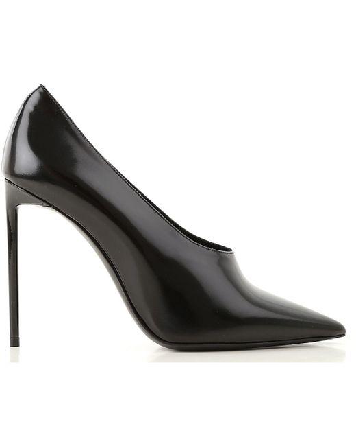 ... Saint Laurent - Black Shoes For Women - Lyst ... d8482e1f92