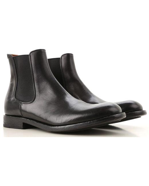 Pantanetti - Black Chelsea Boots For Men On Sale for Men - Lyst