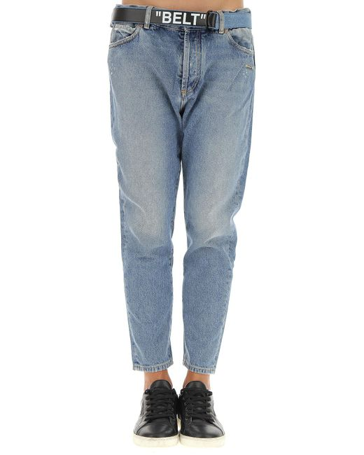 de7cd59aaadf ... Off-White c o Virgil Abloh - Blue Jeans for Men - Lyst ...
