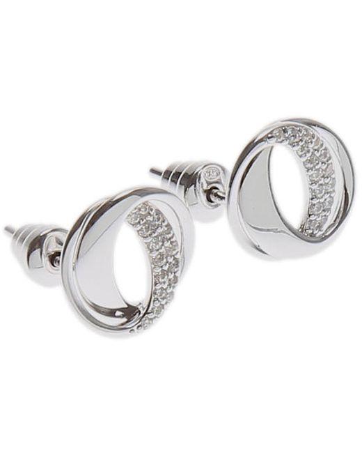 Emporio Armani - Metallic Earrings For Women On Sale - Lyst