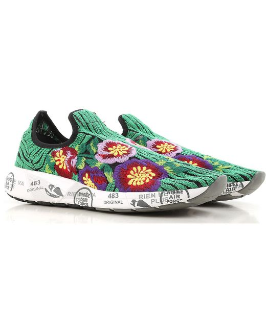 Jane sneakers - Green Premiata CpMVouN