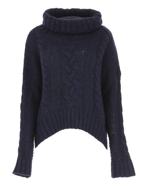 Woolrich - Blue Sweater For Women Jumper - Lyst
