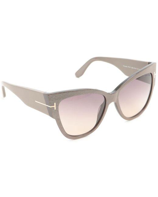 ce11cf1789 Tom Ford - Multicolor Gafas y Lentes de Sol Baratos en Rebajas - Lyst ...