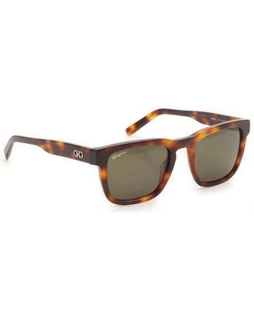Ferragamo - Brown Sunglasses On Sale - Lyst
