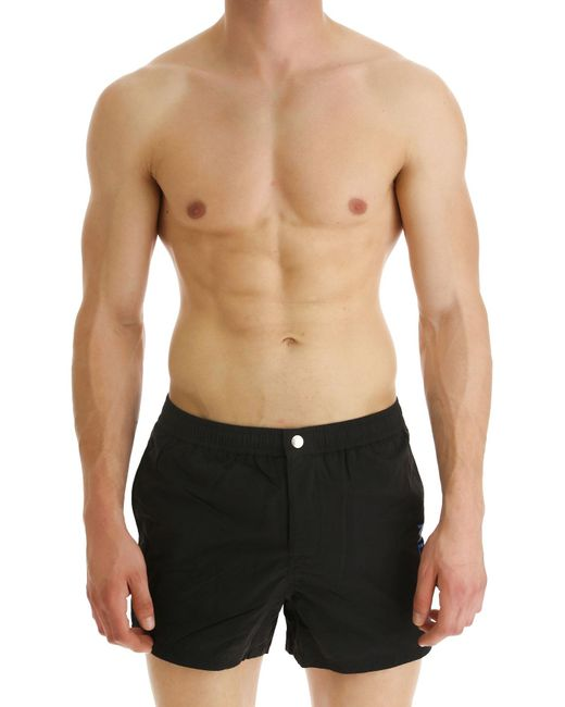 95741378 KENZO - Black Swim Shorts Trunks For Men for Men - Lyst ...