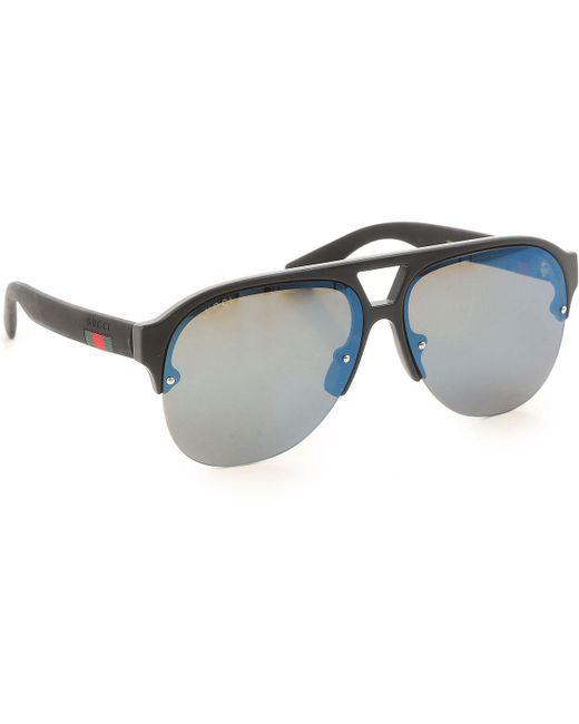 Gucci - Black Sunglasses On Sale - Lyst