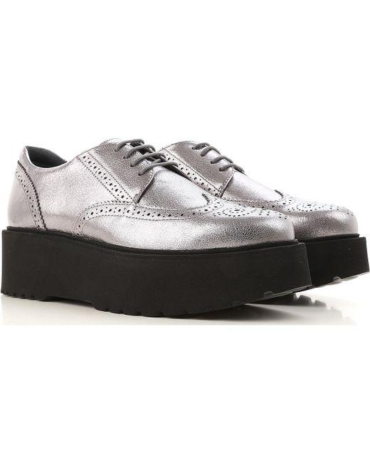 Hogan Metallic Womens Shoes On Sale
