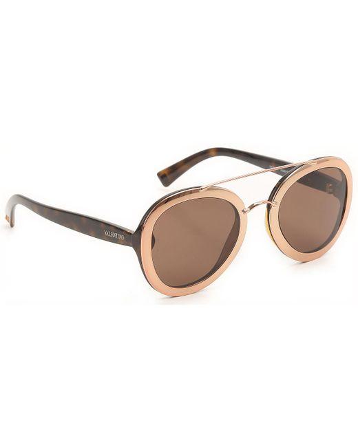 80be9253df Valentino - Multicolor Gafas y Lentes de Sol Baratos en Rebajas - Lyst ...