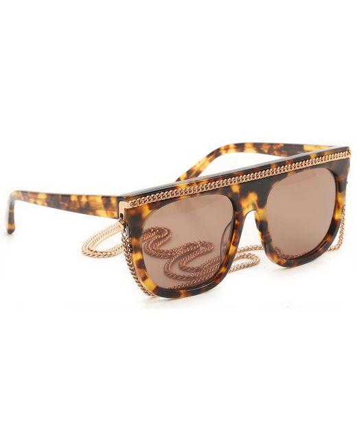 Stella McCartney - Multicolor Sunglasses - Lyst