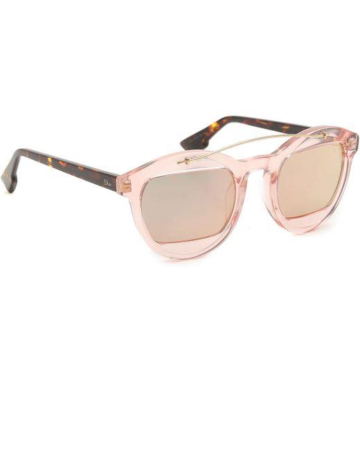 423bec64d7f Dior - Multicolor Sunglasses On Sale - Lyst ...