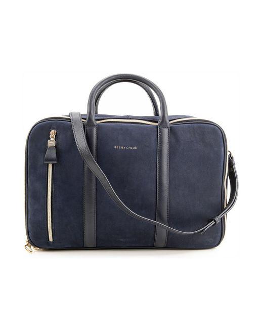 Chloé - Blue Shoulder Bag For Women On Sale In Outlet - Lyst