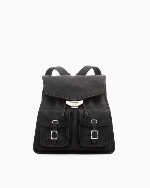 Rag & Bone - Black Small Field Backpack - Lyst