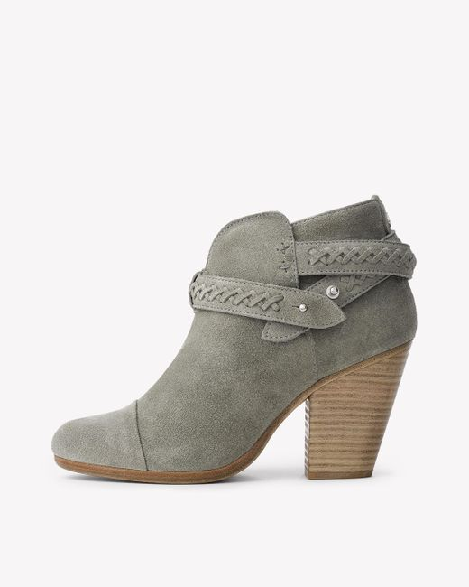 Rag & Bone | Gray Harrow Boot | Lyst