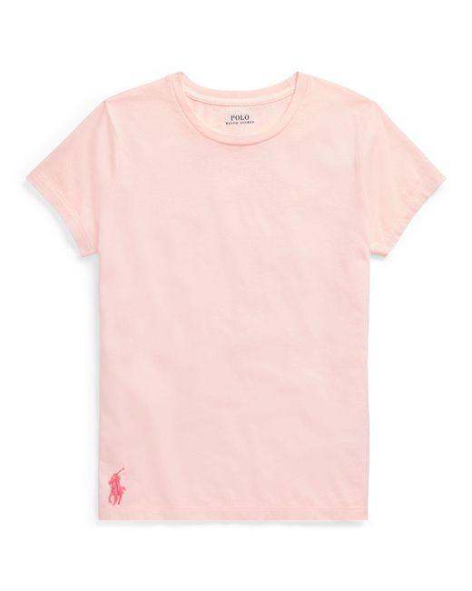 Ralph Lauren - Pink Pony Cotton T-shirt - Lyst