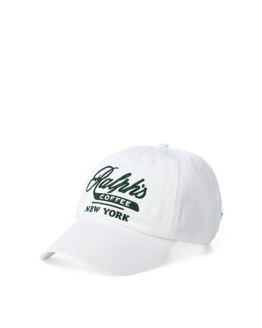 Polo Ralph Lauren - White Ralph's Coffee Hat for Men - Lyst