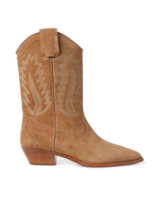 Polo Ralph Lauren - Brown Maila Cowboy Boot - Lyst
