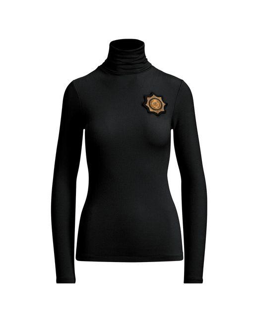 Polo Ralph Lauren - Black Crest Turtleneck Jumper - Lyst