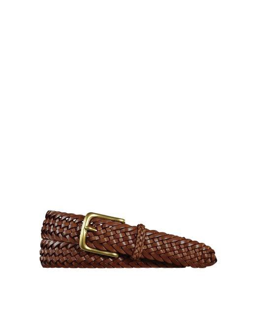 Ralph Lauren | Brown Sportsman Braided Belt for Men | Lyst