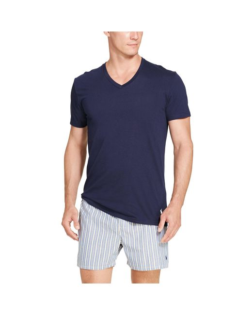 Polo Ralph Lauren | Multicolor Classic V-neck 3-pack for Men | Lyst