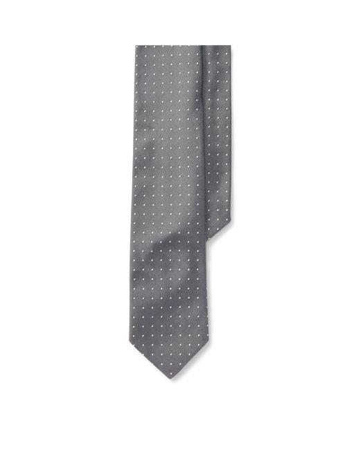 Polo Ralph Lauren - Metallic Polka-dot Silk Repp Tie for Men - Lyst