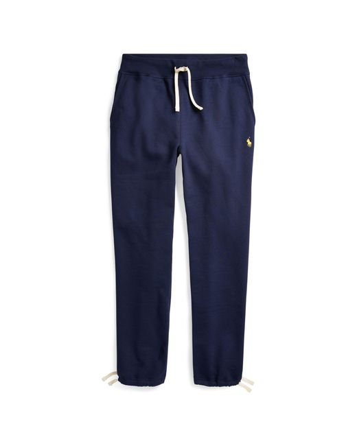 Polo Ralph Lauren | Blue Cotton-blend-fleece Pant for Men | Lyst