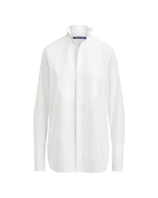 Ralph Lauren - White Wallace Poplin Tuxedo Tunic - Lyst
