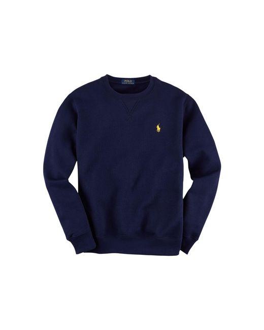 Polo Ralph Lauren | Blue Fleece-sweatshirt for Men | Lyst