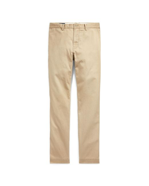 Polo Ralph Lauren | Brown Slim-fit Cotton Chino for Men | Lyst