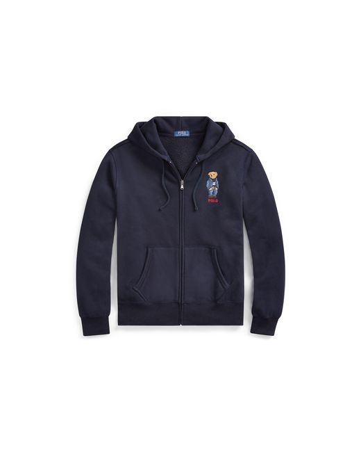 Polo Ralph Lauren - Blue Polo Bear Fleece Hoodie for Men - Lyst