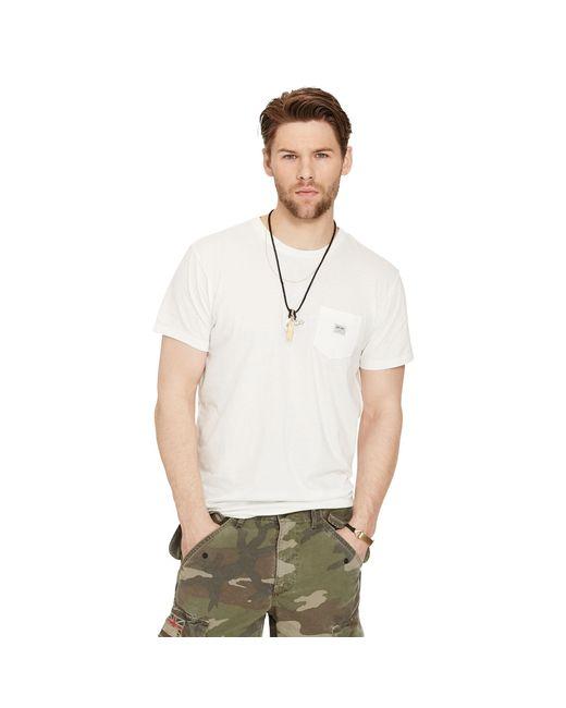 Denim & Supply Ralph Lauren | White Short-sleeved Pocket T-shirt for Men | Lyst