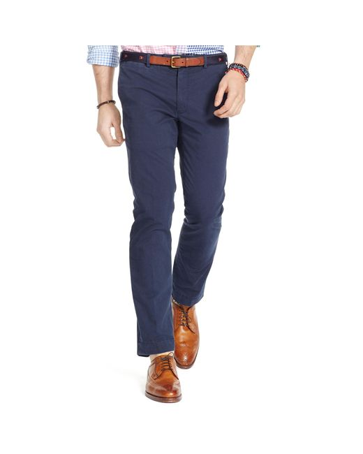 Polo Ralph Lauren | Blue Slim-fit Stretch Chino for Men | Lyst