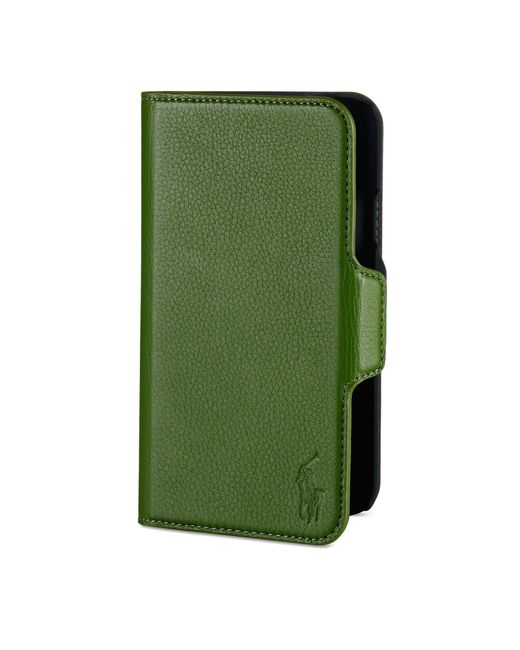Polo Ralph Lauren | Green Leather Samsung Phone Case for Men | Lyst