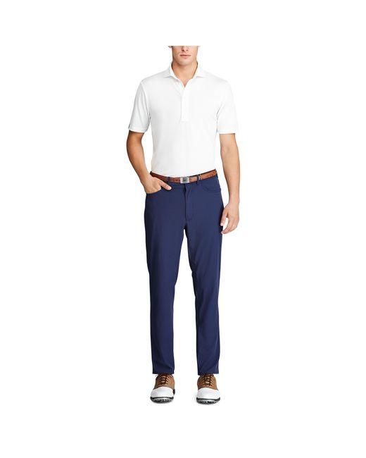 Ralph Lauren Blue Tailored Fit Golf Pant for men