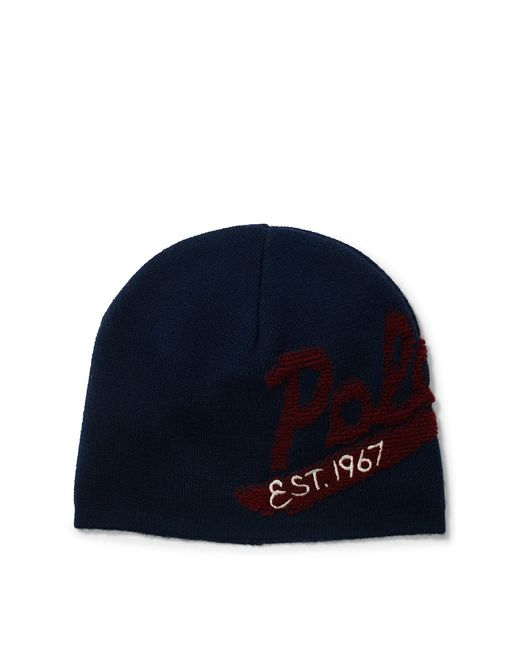 Polo Ralph Lauren | Blue Polo Wool Cap for Men | Lyst