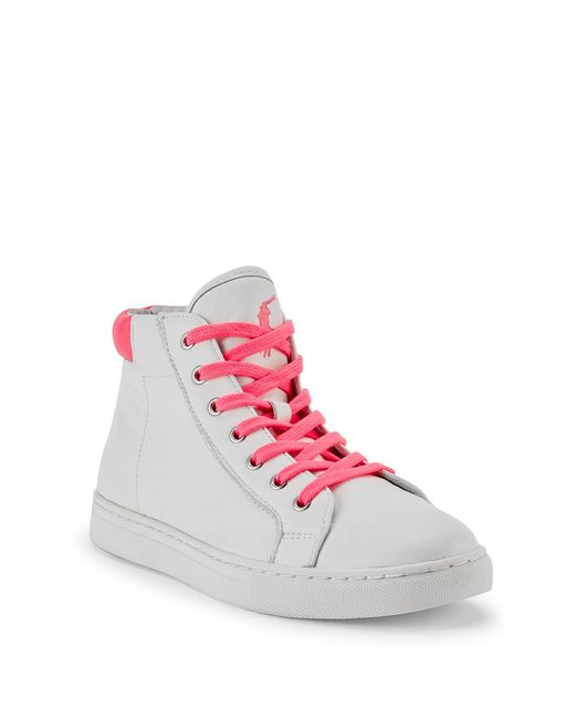 Pink Pony | Pink Pony Leather Sneaker | Lyst