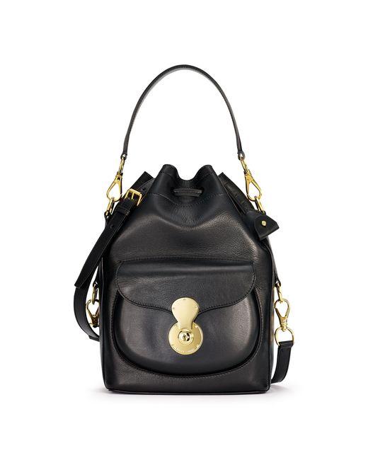Ralph Lauren | Black Nappa Ricky Drawstring Bag | Lyst