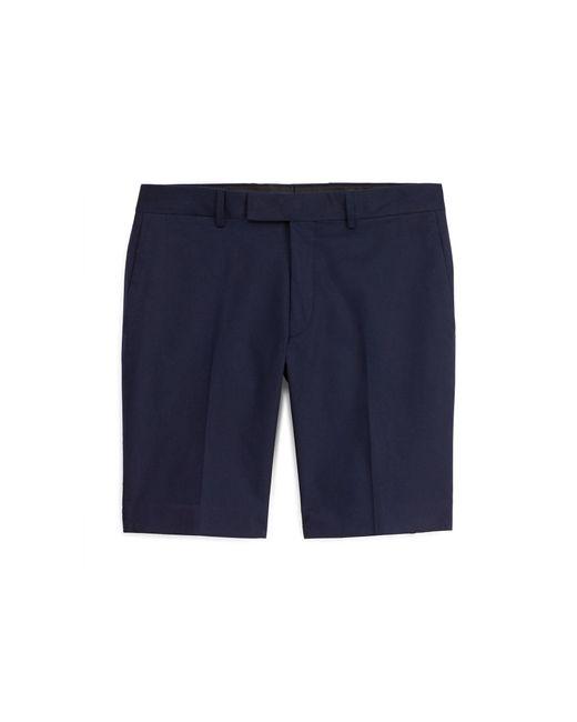 Ralph Lauren Purple Label | Blue Slim Fit Cotton Chino Short for Men | Lyst