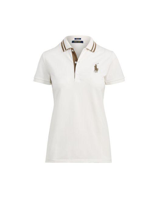 Ralph Lauren Golf | White Tailored Fit Golf Polo Shirt | Lyst