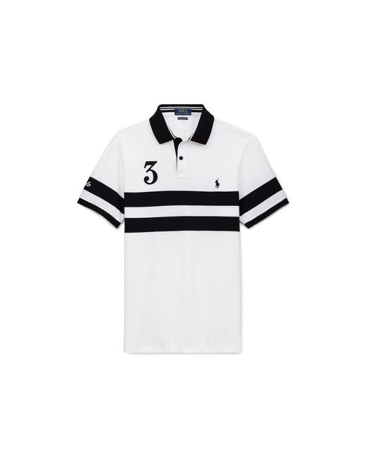 Pink Pony | White Classic Fit Featherweight Polo for Men | Lyst