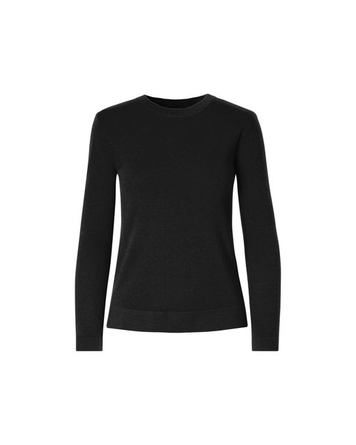 Polo Ralph Lauren | Black Cashmere Jersey Sweater | Lyst