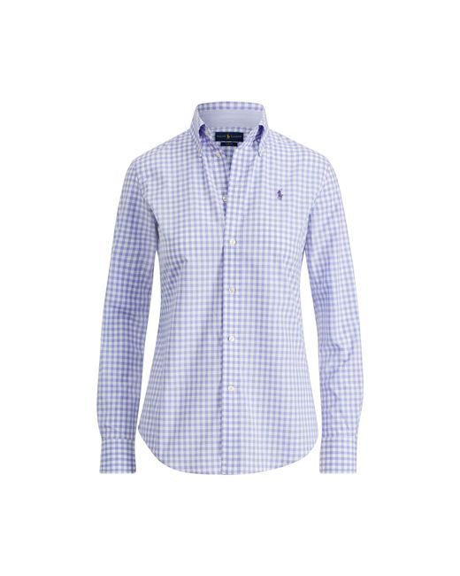 Polo Ralph Lauren - Multicolor Slim Fit Gingham Poplin Shirt - Lyst